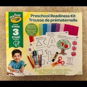 Crayola Preschool Readiness Kit Art Supplies